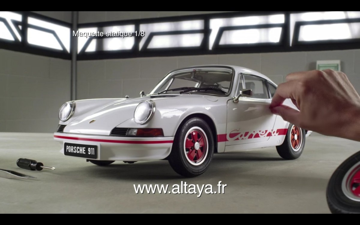 911 Carrera Rs 2 7 Kit 224 Monter Maquettes