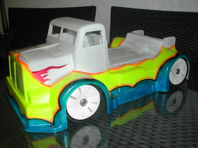 carrosserie rally game 1/8 lexan camion US truck