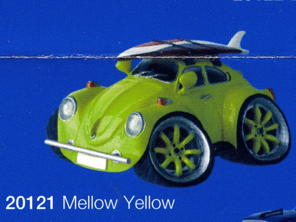 street machines mellow yellow / vw beetle cox
