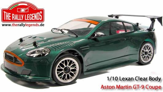 ancien stock aston martin db9 gt 1/10 the rally legends