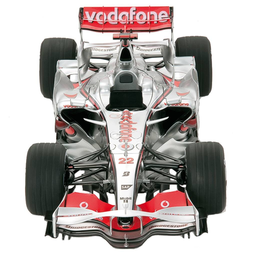 maquette formule 1 mclaren mp4 23 au 1 8 par kyosho. Black Bedroom Furniture Sets. Home Design Ideas