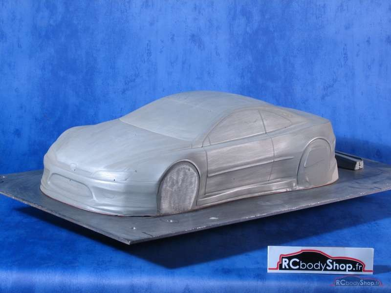 carrosserie peugeot 406 coupe 1/10 lexan 200mm large