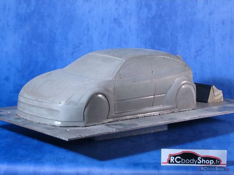 carrosserie Focus 1 au 1:10 en 190mm large lexan