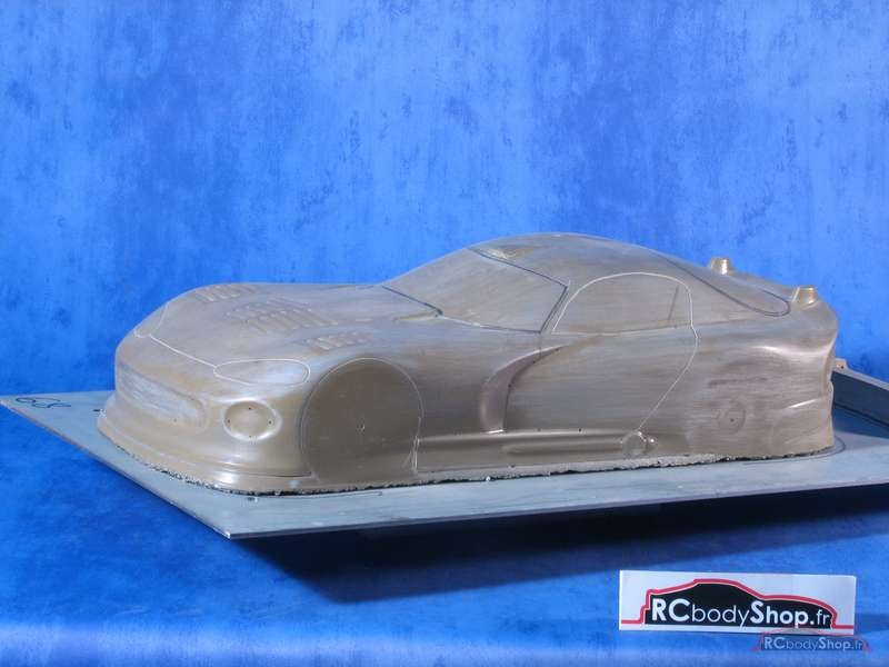 carrosserie lexan 1:10 chrysler viper en 200mm