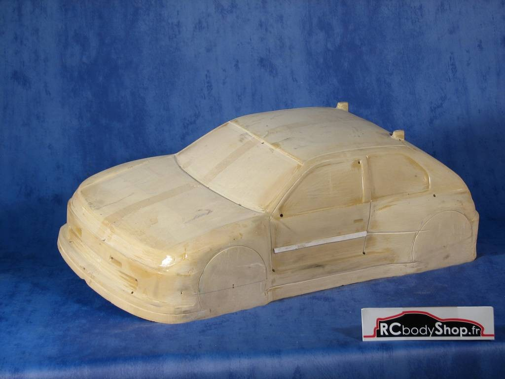 carrosserie lexan 1:10 peugeot 306 en 250mm large