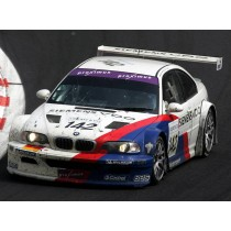 carrosserie 1/10 large lexan 240mm bmw E46 M3 GTR 2000/2006