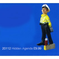 street machines figurine hidden agenda,police women