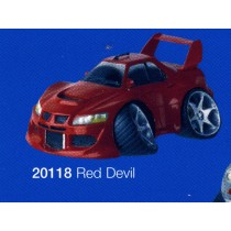 street machines red devil Car figurines distributed by Xystos