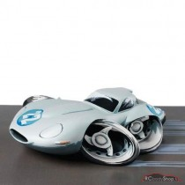 figurine voiture Speed Freaks Nurbergring '65  jaguar type E