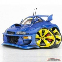 figurine Speed Freaks Scoobie / subaru impreza