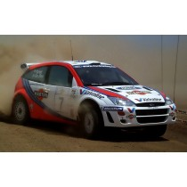 carrosserie Focus 1 Rallye Game 1:8 lexan