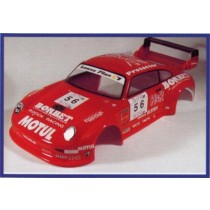 carrosserie 1:10 large lexan porsche 993 gt2 250mm