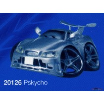 figure cartoon street machines pskycho nissan gtr r34