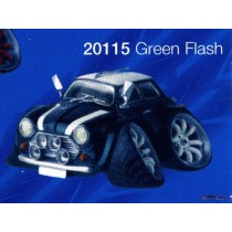 figurine street machines green flash / austin mini cooper