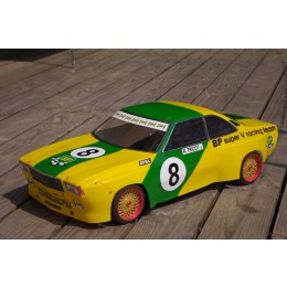 carrosserie lexan 1:5 Opel Commodore GS/E BP Tricot