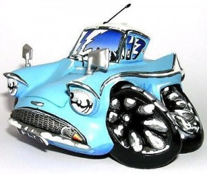 figurine Speed Freaks flybox : ford anglia
