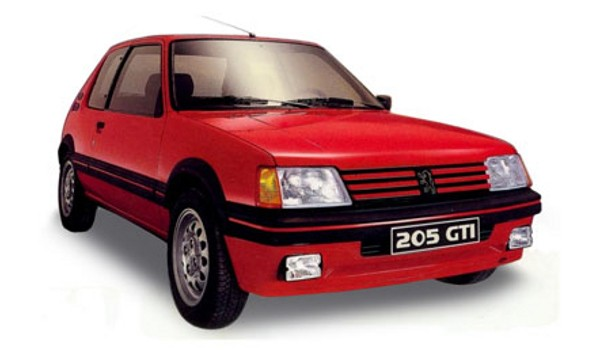 carrosserie lexan peugeot 205 gti 1 10. Black Bedroom Furniture Sets. Home Design Ideas