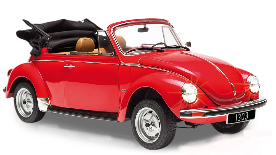 maquette voiture volkswagen coccinelle 1303 cabriolet altaya au1 8. Black Bedroom Furniture Sets. Home Design Ideas