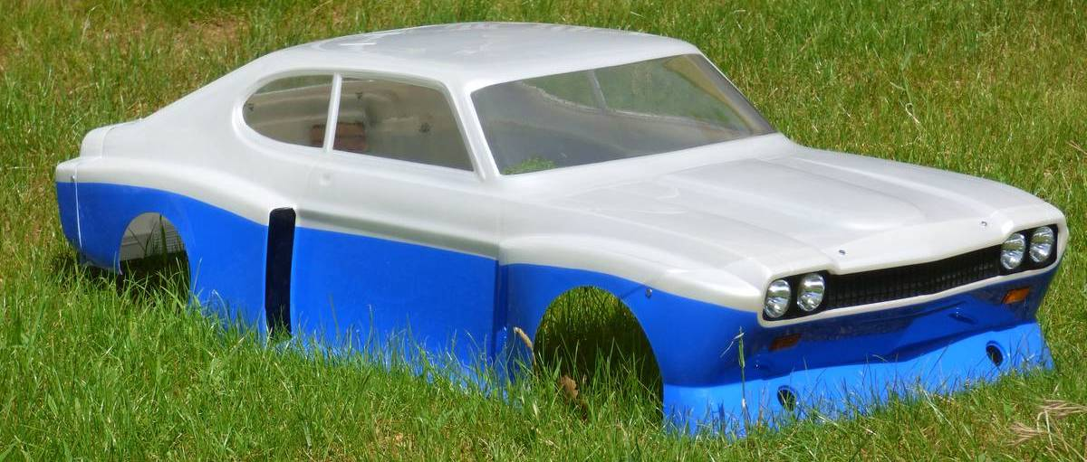 capri bodyshell before decals / paint only